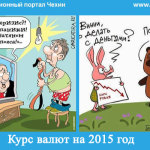 Курс валют на 2015 год: рубль, гривна, крона