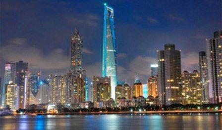 шанхайский всемирный торговый центр