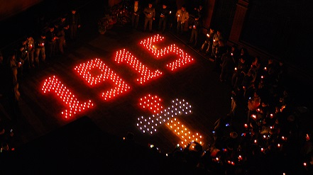 Армяне в Чехии вспоминали жертв геноцида