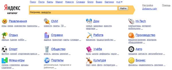 Регистрация в каталоге Яндекс: чем полезно. Способы регистрации в каталоге Яндекс.